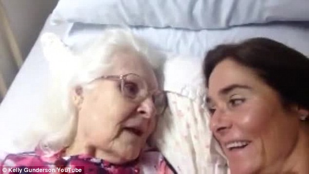 Touching Video of 87-year-old with Alzheimer's Recognizing Daughter