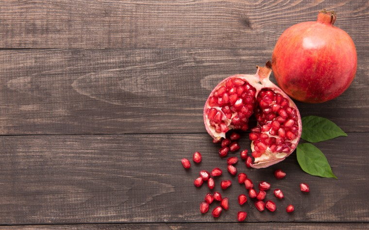 pomegranate extract study
