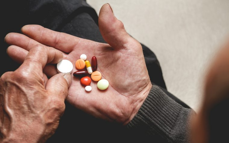 psychotropic drug use in older Alzheimer's patients