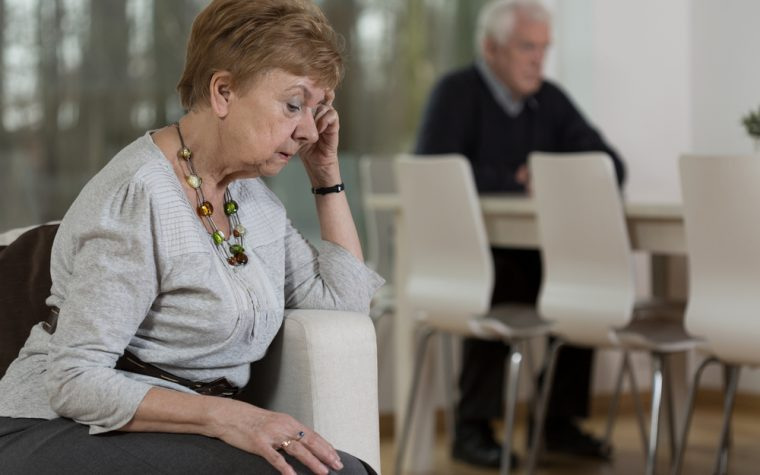 Dementia patients tended by family caregivers with poor mental health die earlier.