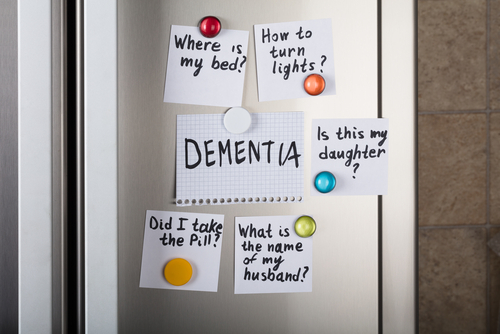 memory loss and dementia