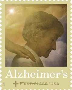 New US Semipostal Stamp to Fund Alzheimer's Disease Research