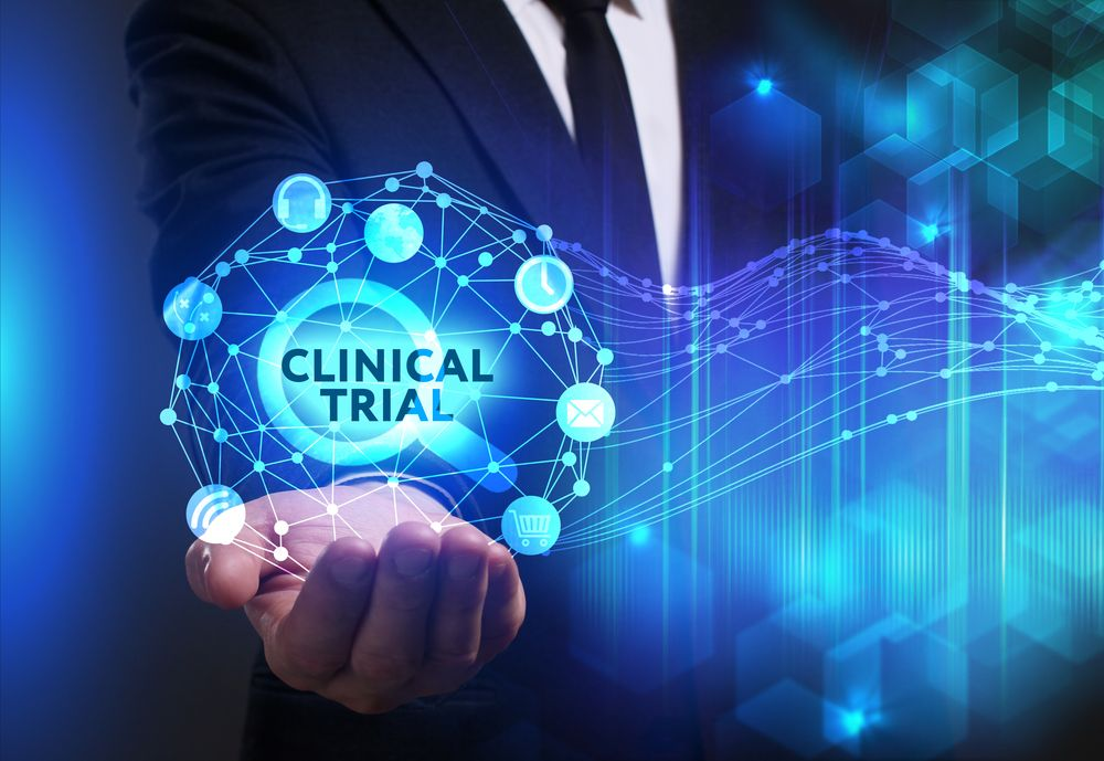 Clinical Trial Stock Photo