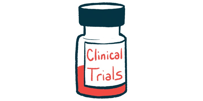 Anavex 2-73| Alzheimer's News Today | Clinical trials | Illustration of medicine bottle labelled clinical trials